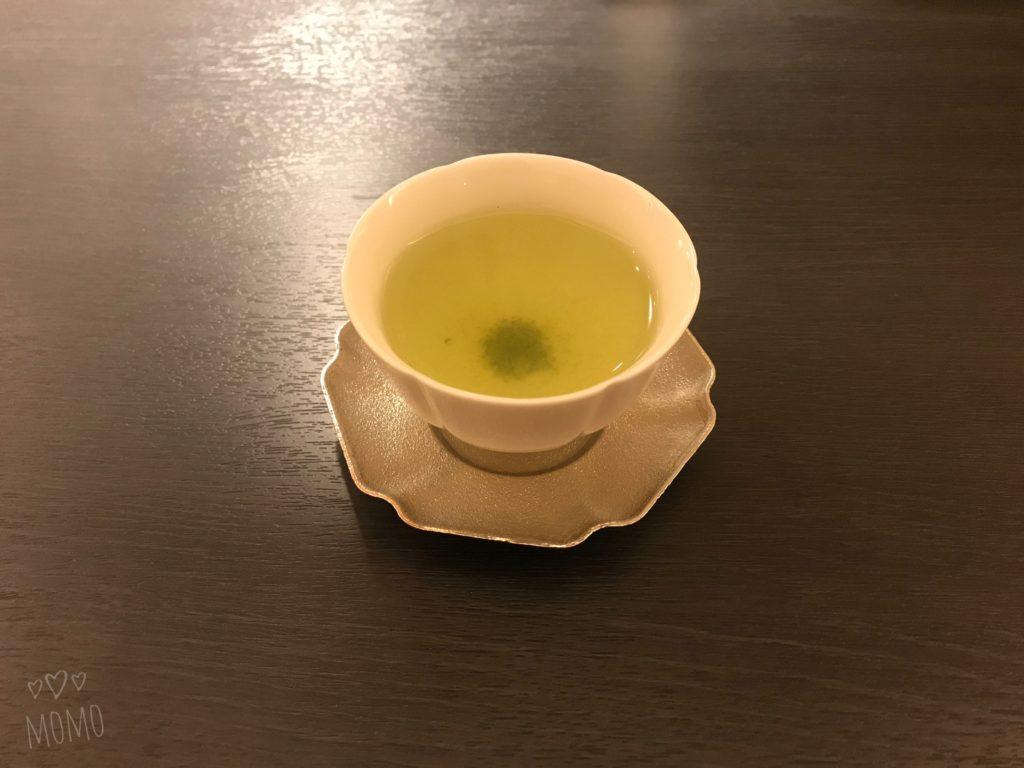 ホテル1899東京 煎茶 サービス