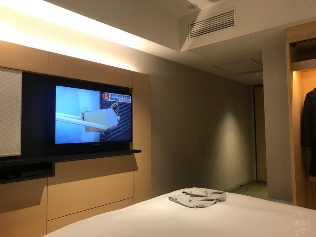 ホテル1899東京 客室 テレビ
