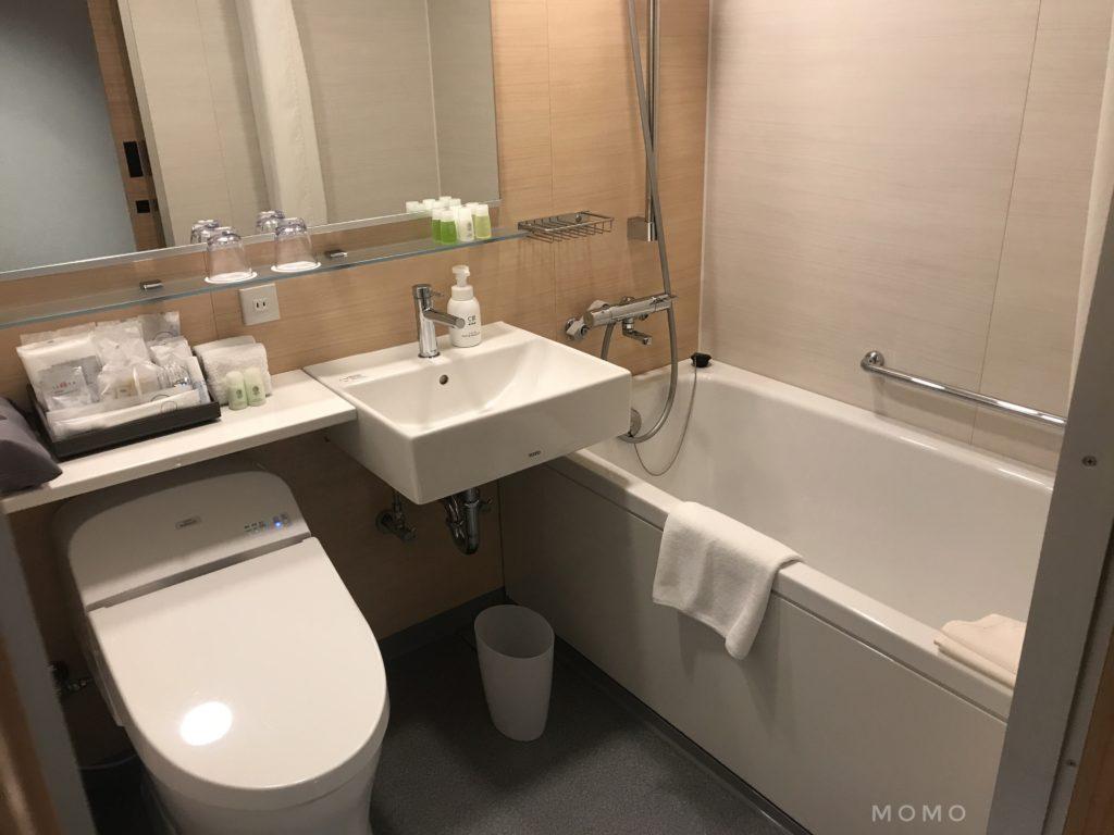 ホテル1899東京 浴室