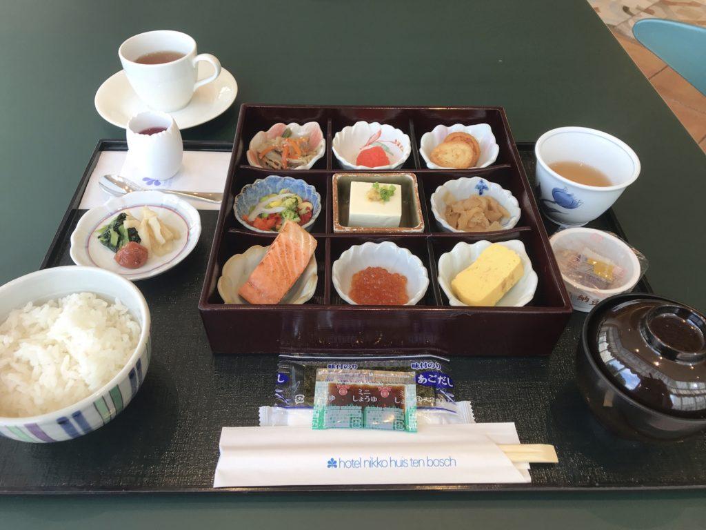 ホテル日航ハウステンボス 朝食