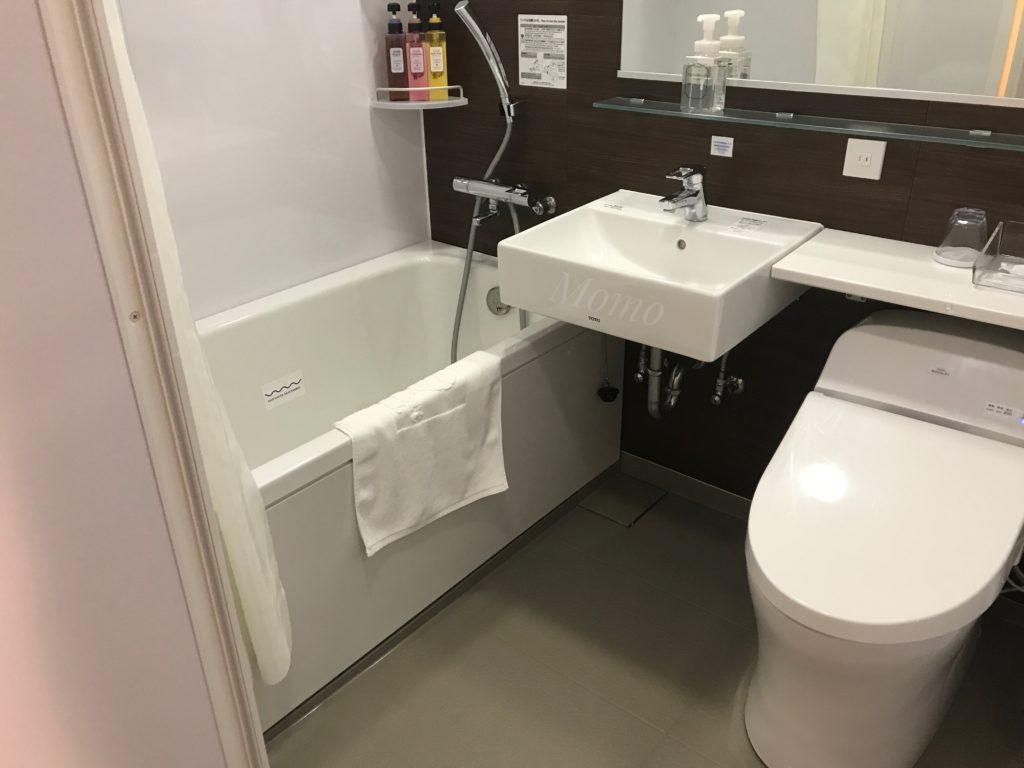 コンフォートホテル 浴室