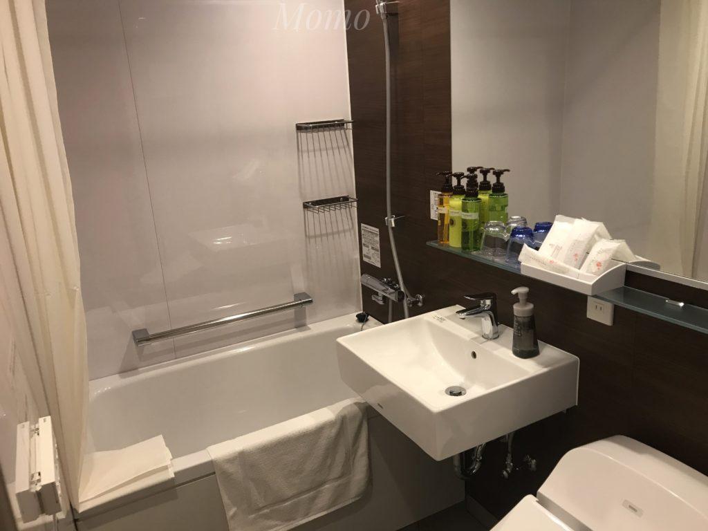 ワイヤーズホテル 浴室