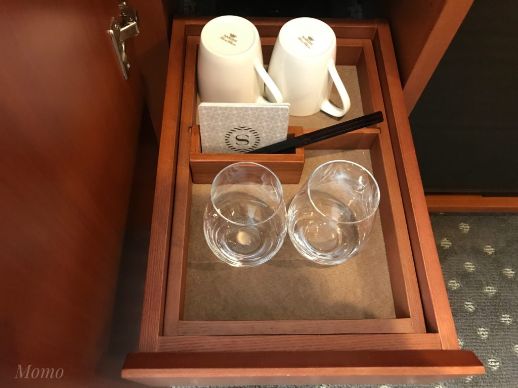 横浜 ホテル 客室 お箸
