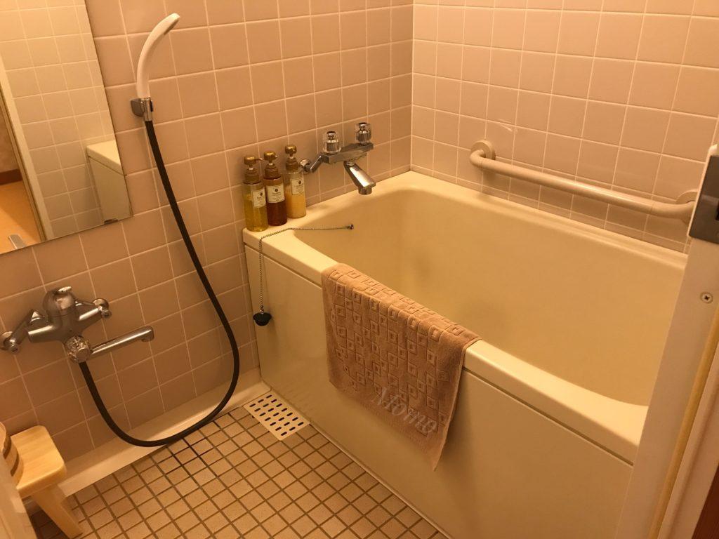 城西館 浴室