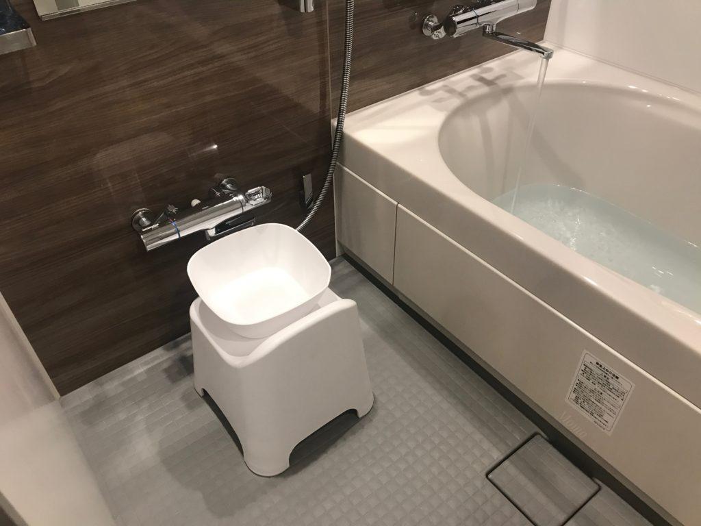 雨庵 浴室 椅子