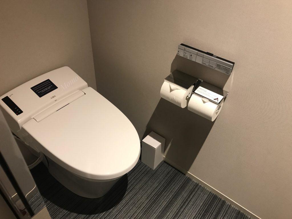 三井ガーデンホテル お手洗い