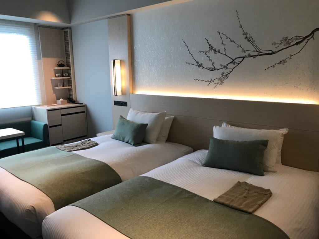 八重の翠東京 客室