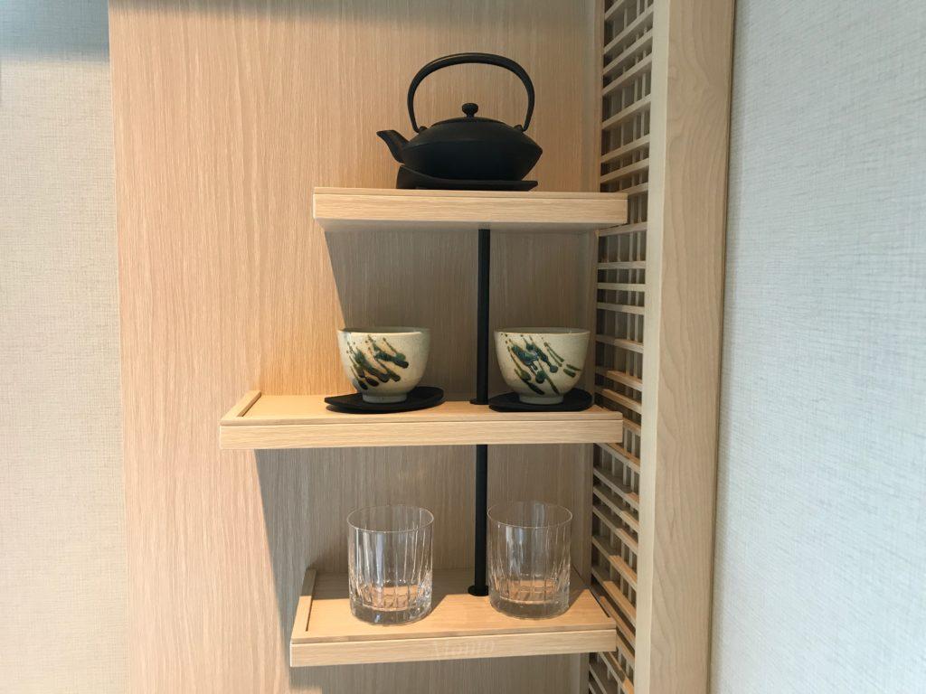 八重の翠東京 お茶
