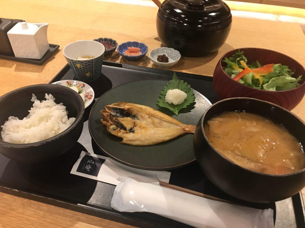 雨庵 朝食 ブログ