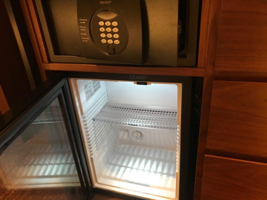 ハイアットリージェンシー横浜 冷蔵庫 セキュリティーボックス