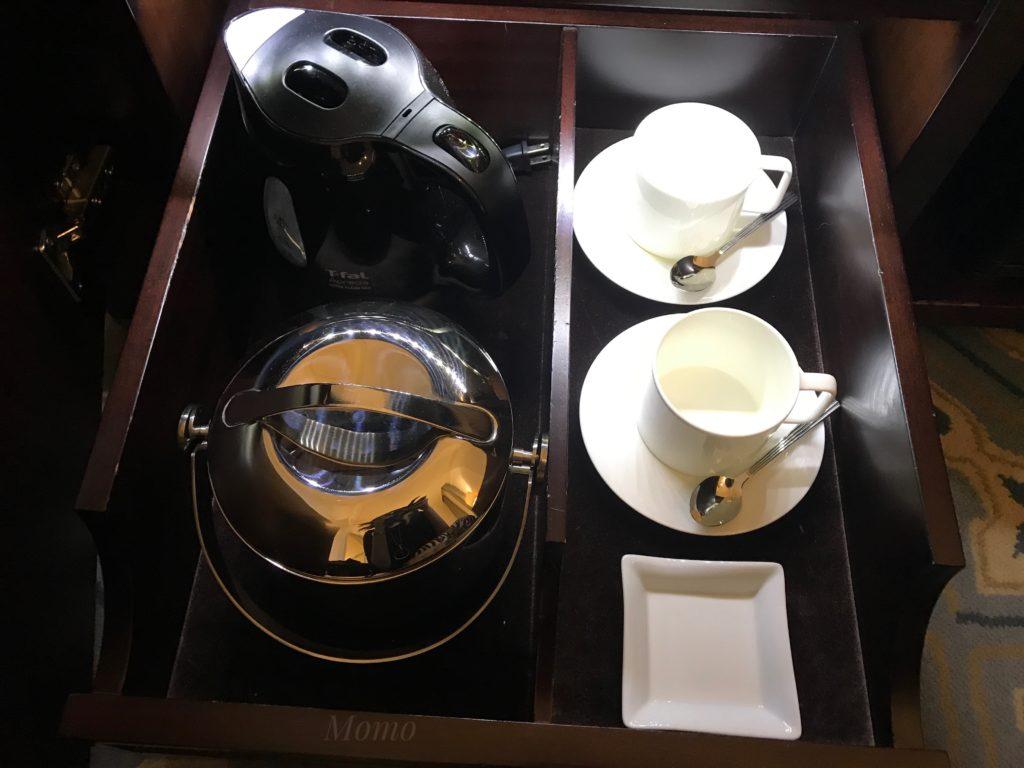 東京ステーションホテル 紅茶 コーヒー