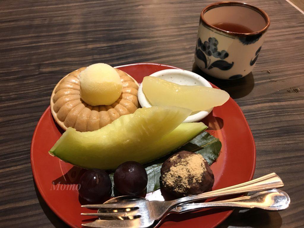 彦根キャッスルリゾートスパ 夕食 デザート