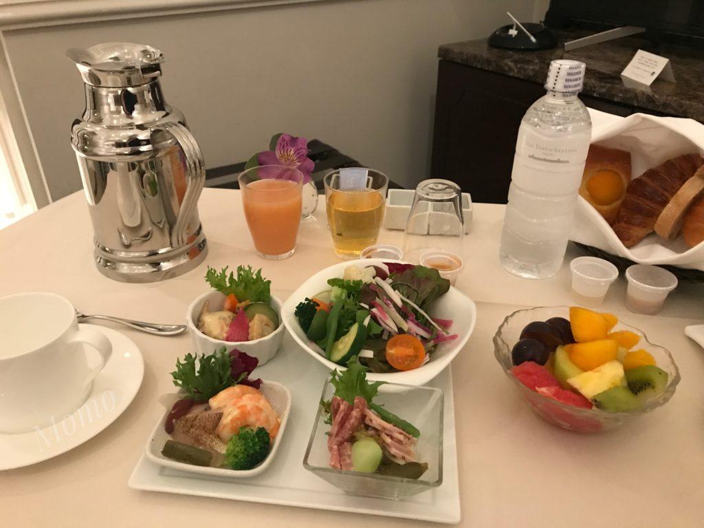 東京ステーションホテル コロナ 朝食