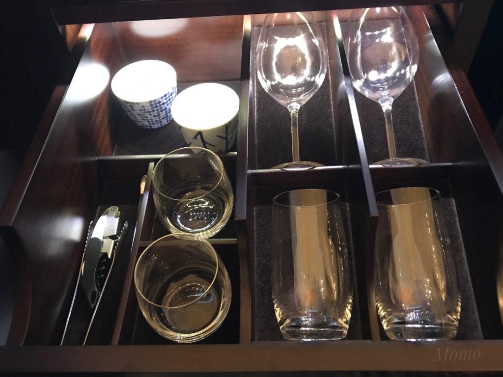 東京ステーションホテル グラス