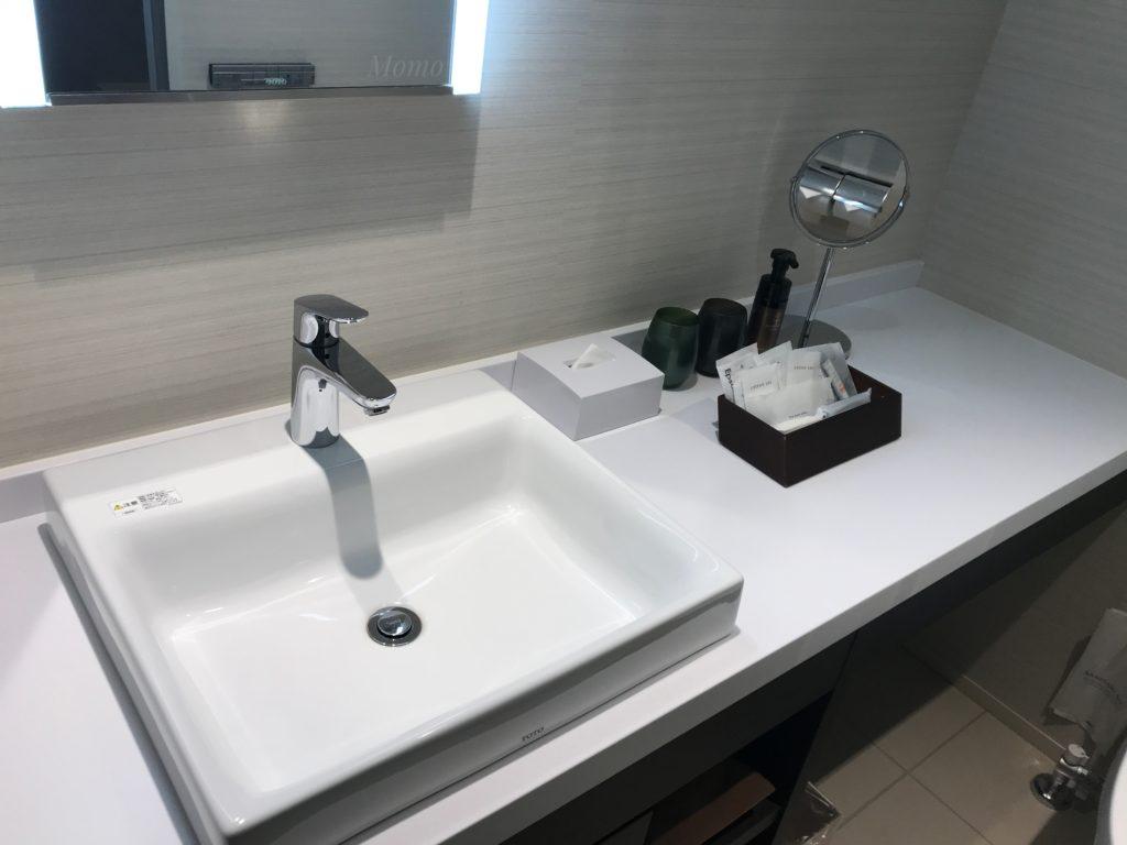 ザ・ゲートホテル 東京 洗面台