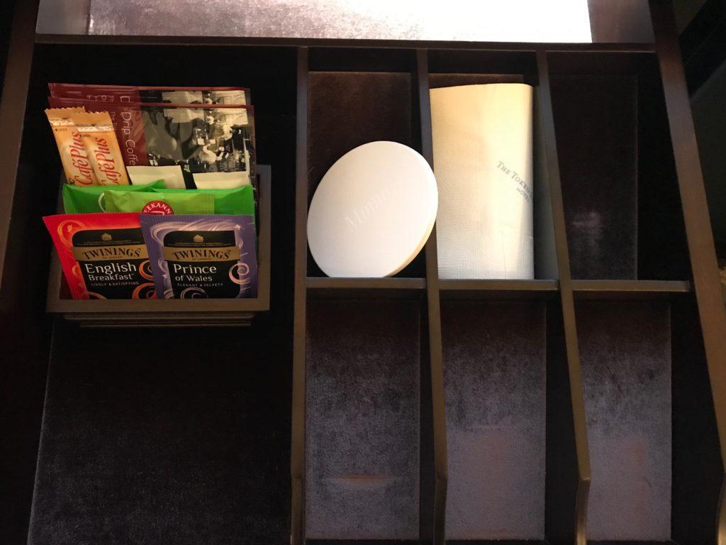 東京ステーションホテル 紅茶