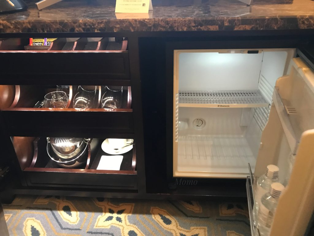東京ステーションホテル 冷蔵庫