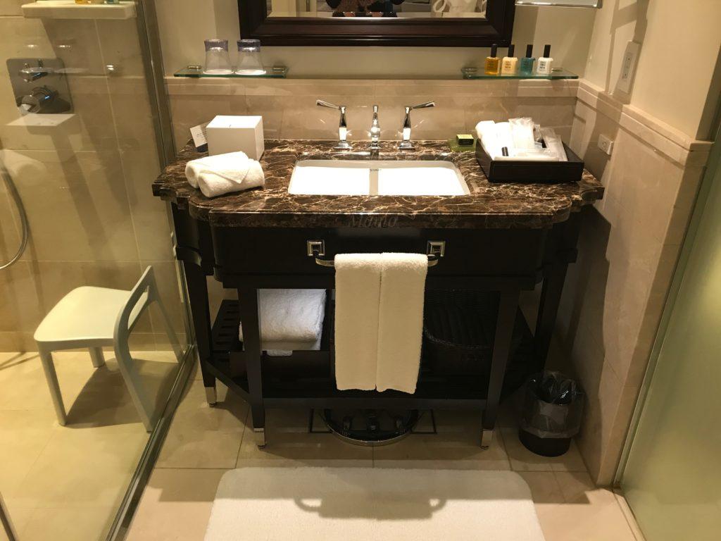 東京ステーションホテル ブログ 洗面台