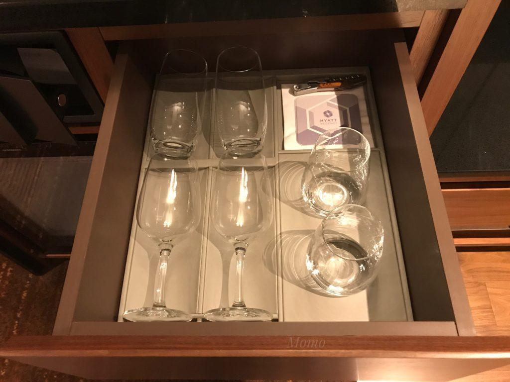 ハイアットリージェンシー グラス ワイン