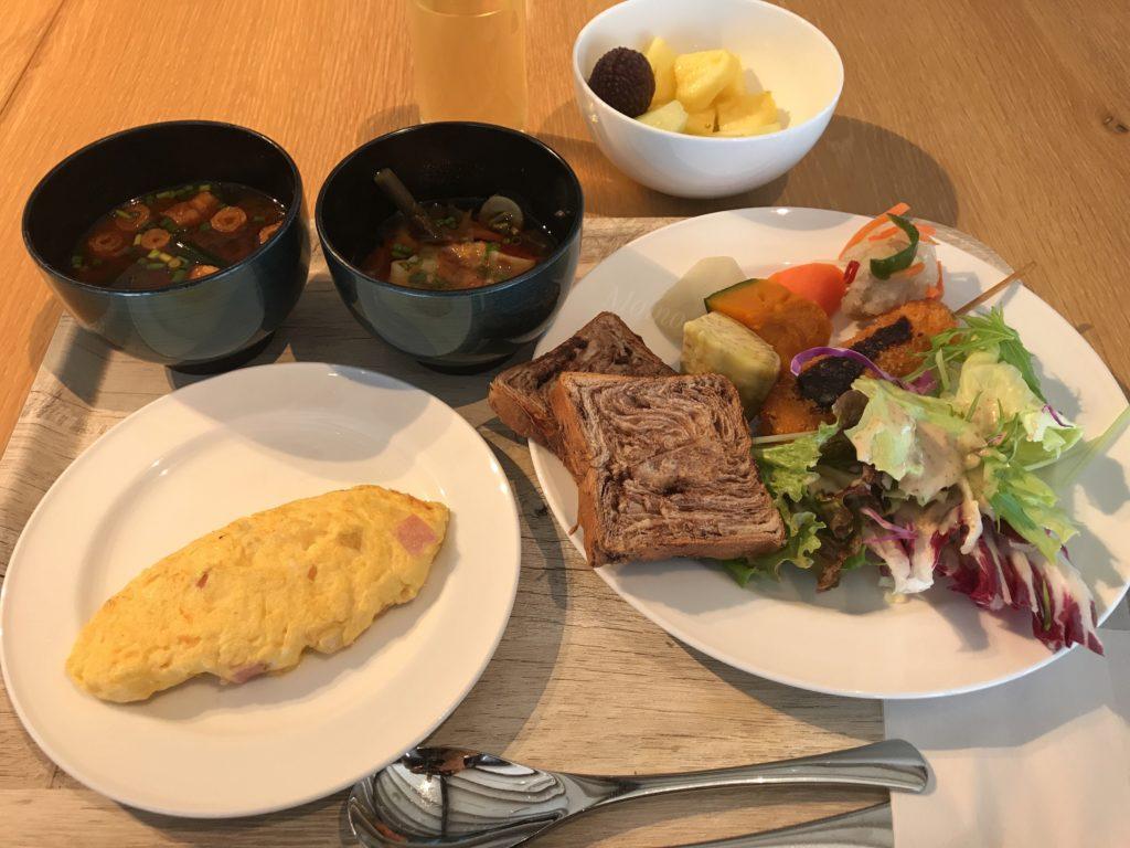 フォーポイントバイシェラトン名古屋 朝食