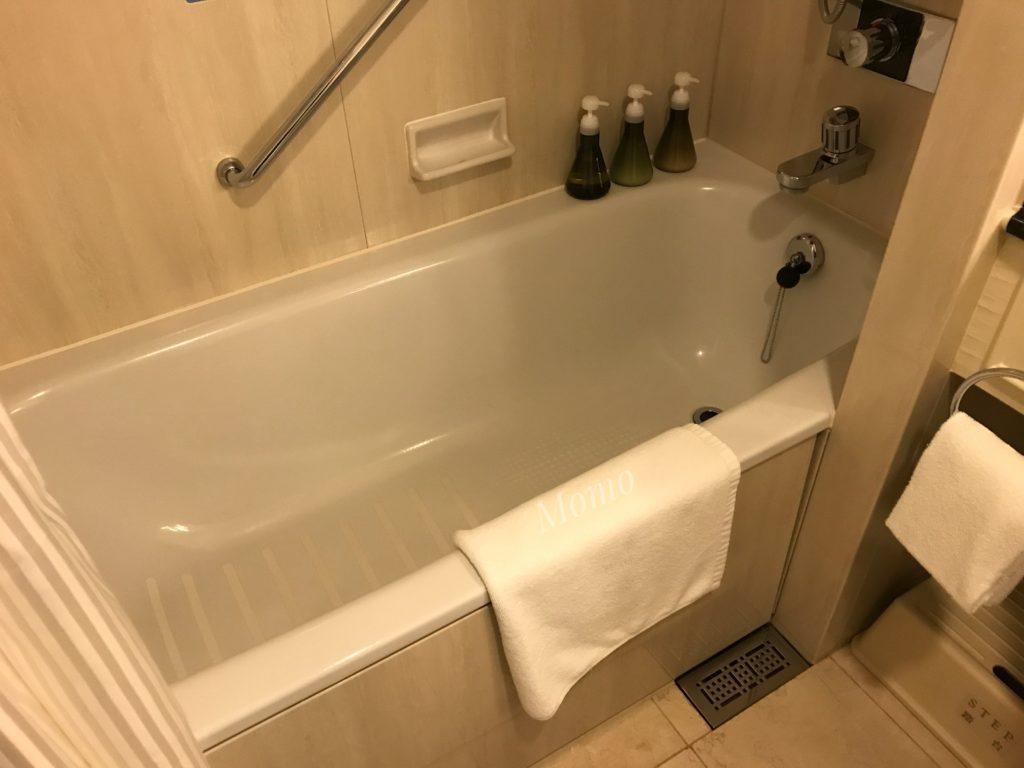 名古屋マリオット 浴槽 レギュラーフロア