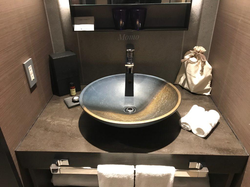 プルマン田町東京 ブログ 洗面台