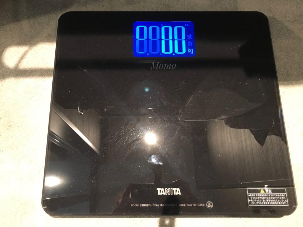 プルマン東京田町 体重計