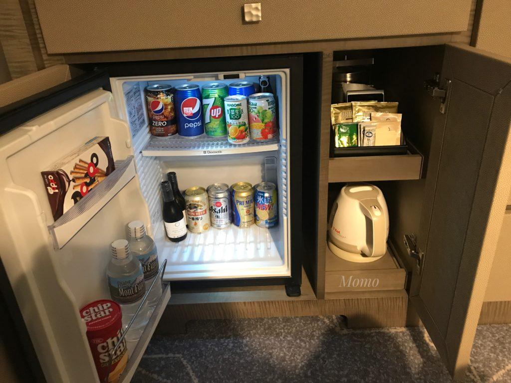 名古屋マリオット 冷蔵庫