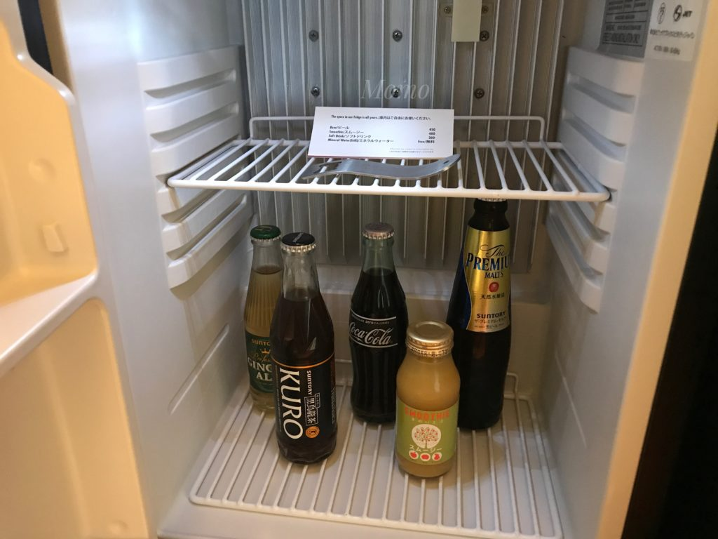 プルマン東京田町 冷蔵庫