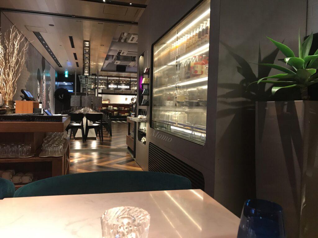 アロフト東京銀座 レストラン 夕食