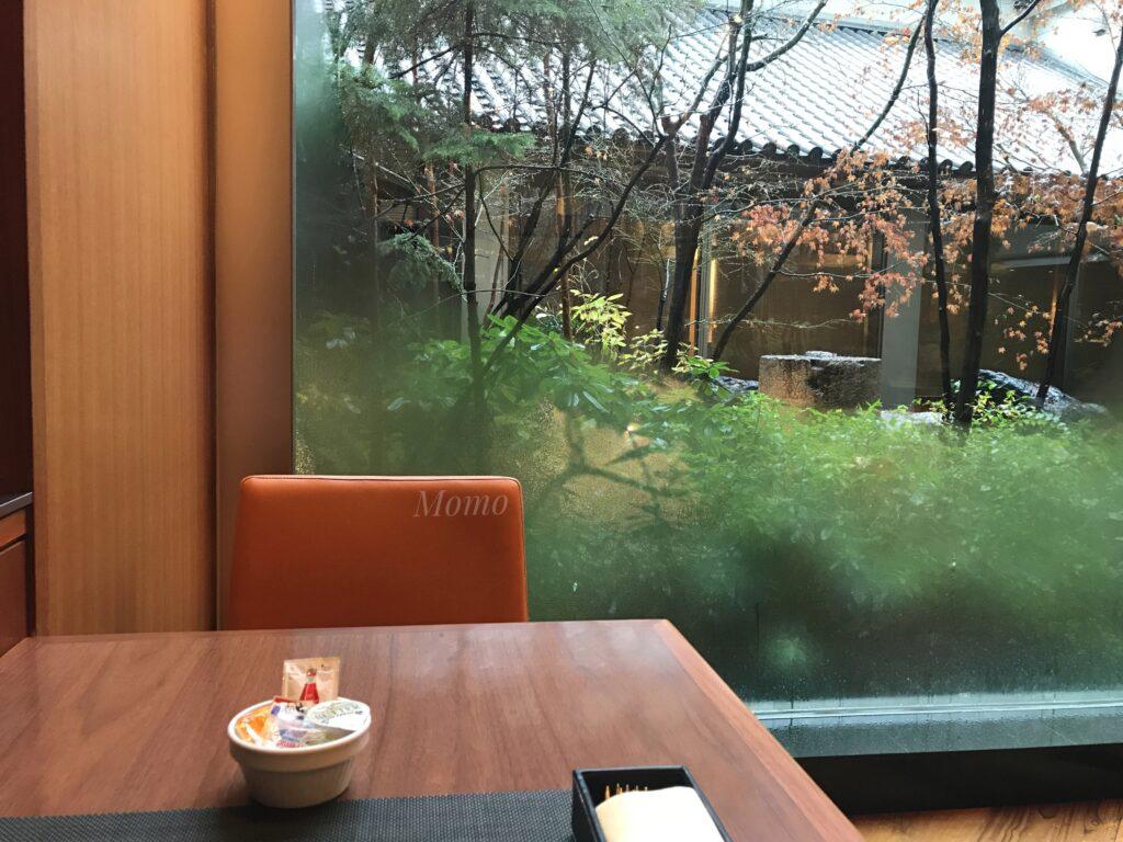 庭のホテル 朝食 ブログ