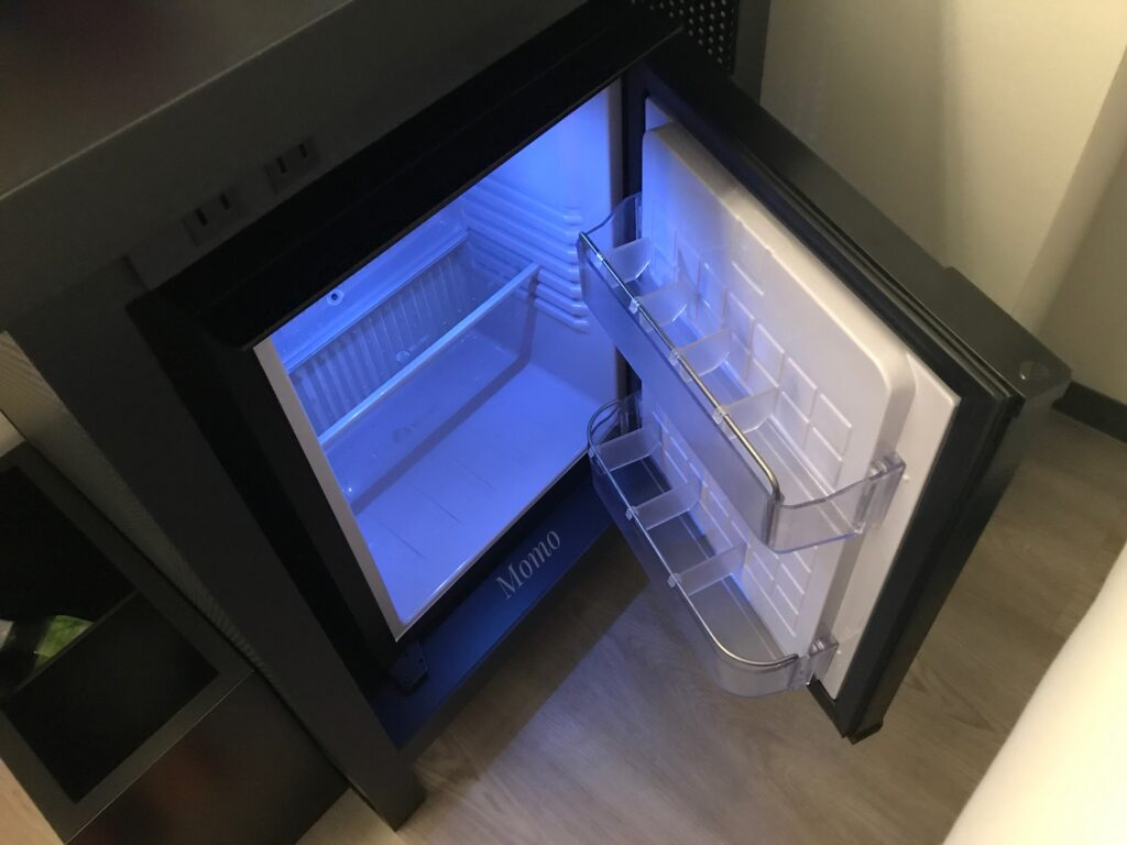 アロフト東京銀座 冷蔵庫
