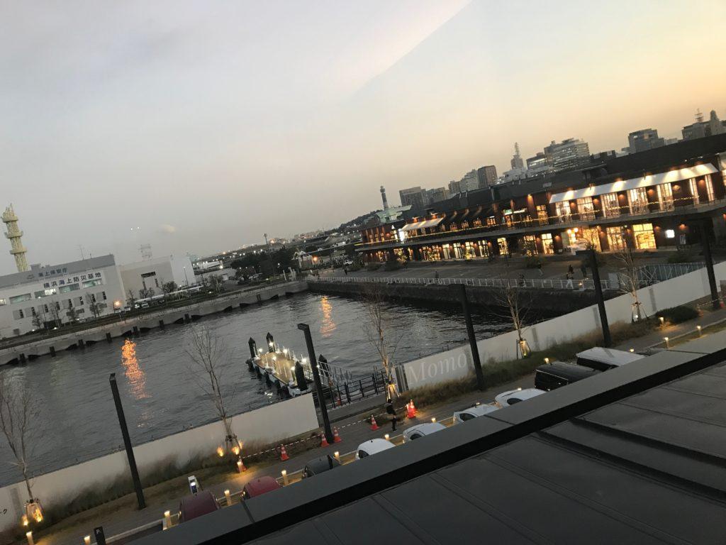 インターコンチネンタル横浜Pier8 景色