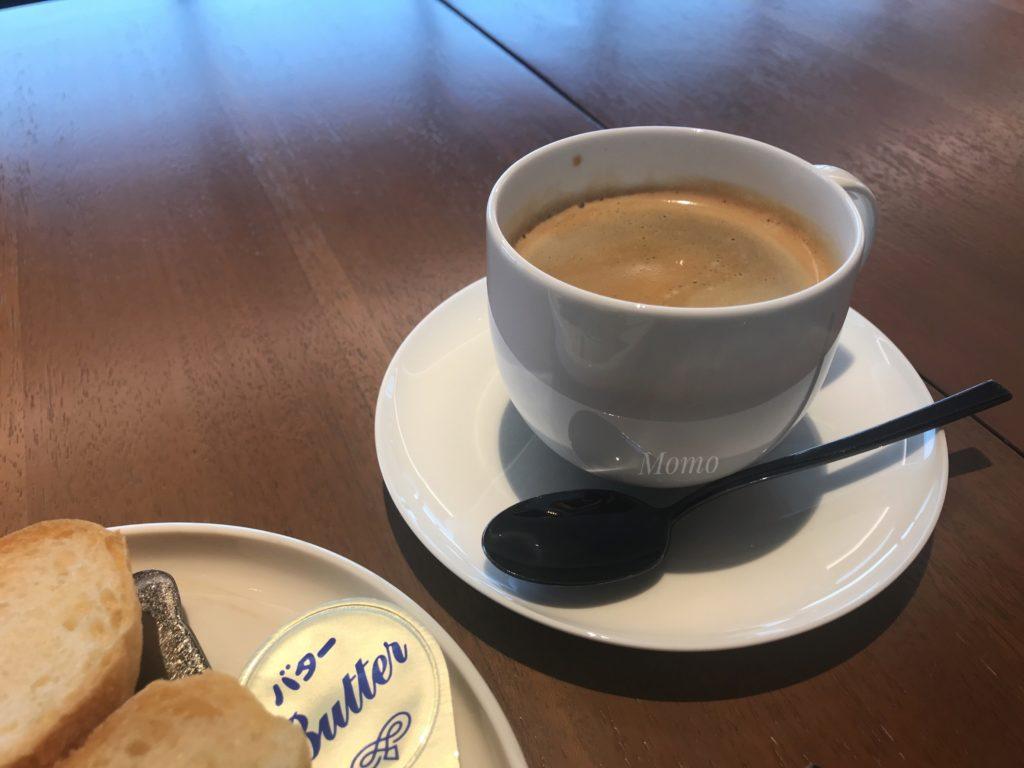 インタアーコンチネンタル 朝食 カフェインレスコーヒー