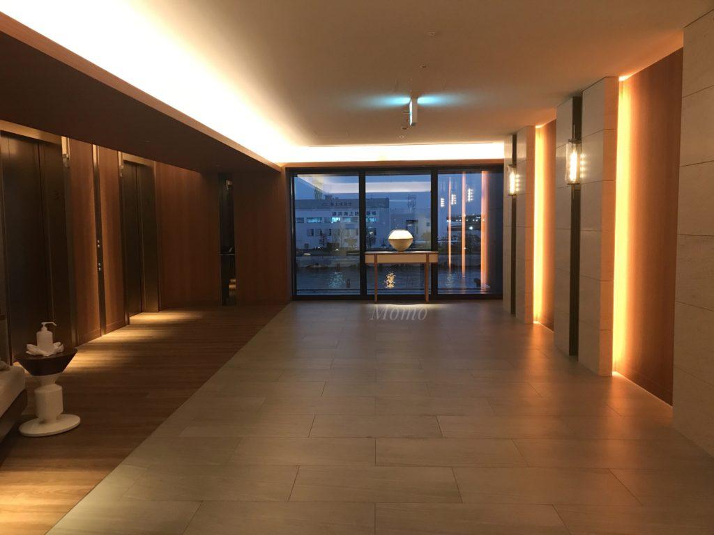 インターコンチネンタル横浜 Pier8 エレベーター