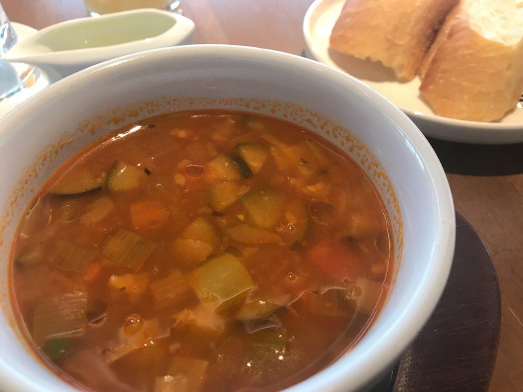インターコンチネンタル 朝食 スープ