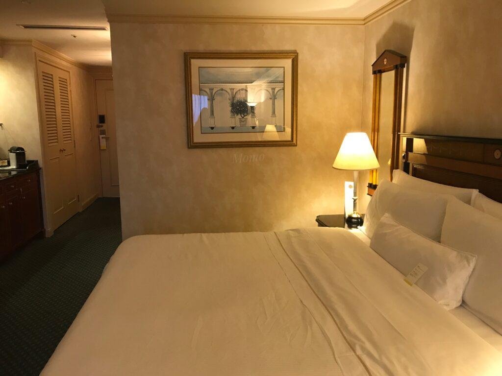 ウェスティンホテル東京 ベッド