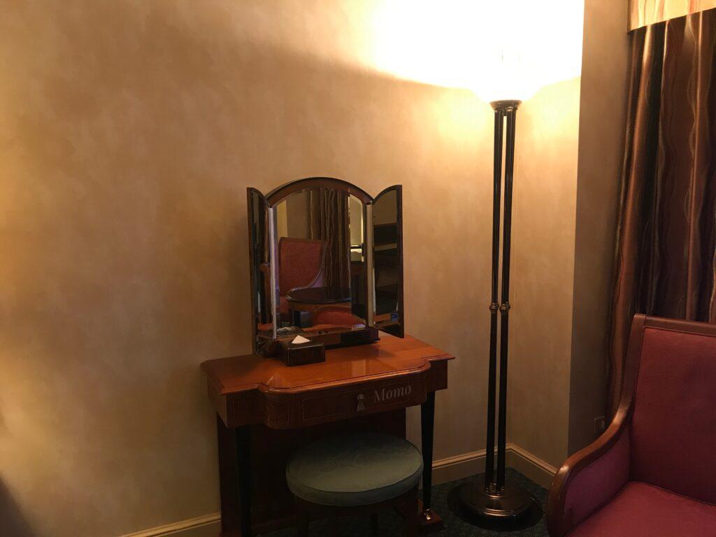 ウェスティンホテル東京 鏡