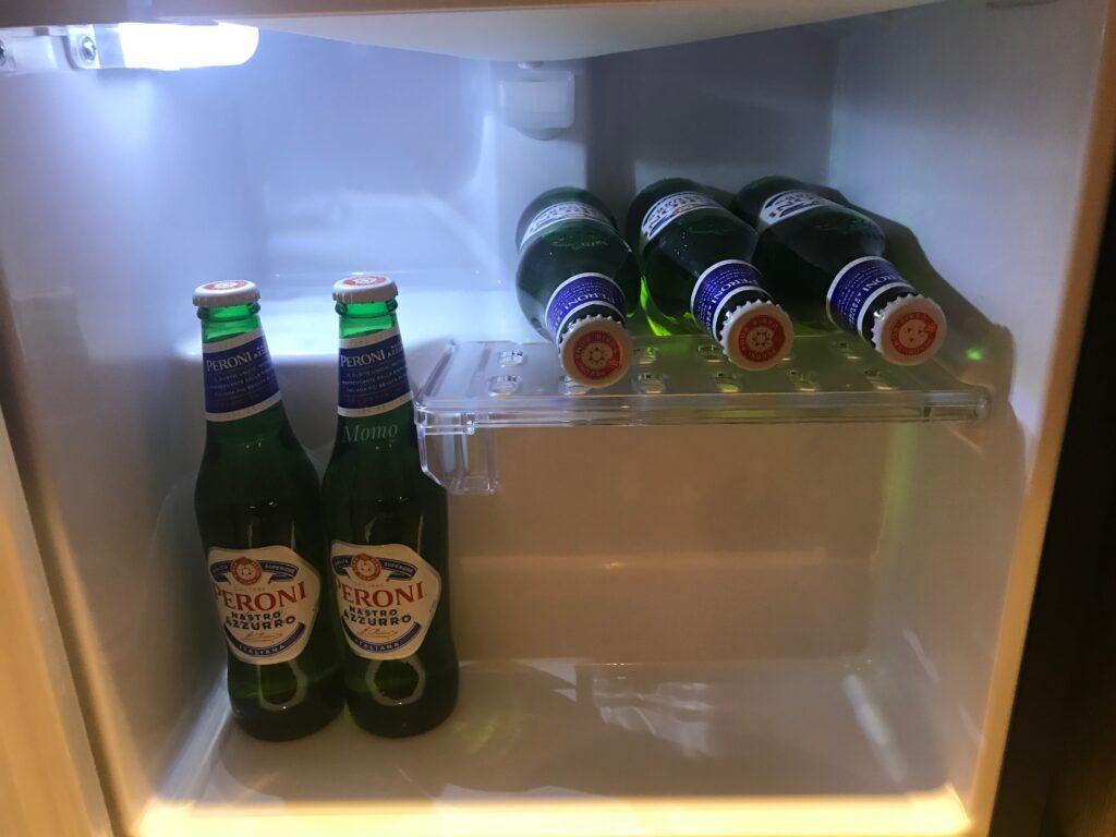 東京ベイ潮見プリンス デラックスコーナーツイン ビール