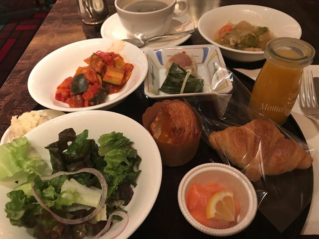 ウェスティン東京 朝食 ブログ
