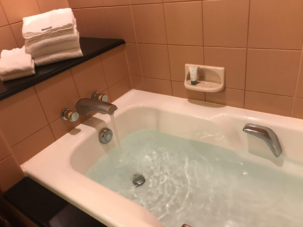ウェスティンホテル バスタブ