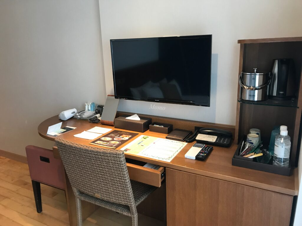琉球温泉瀬長島ホテル テレビ ダブルルーム