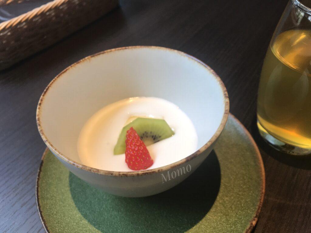 潮見プリンス 朝食 デザート