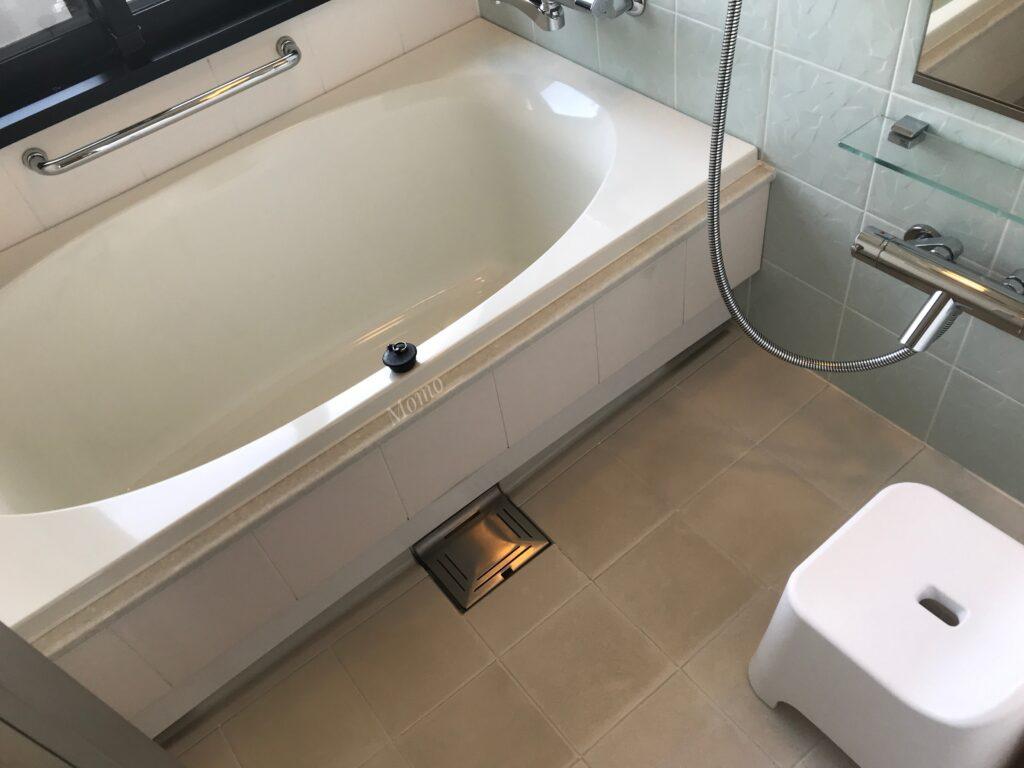 瀬長島ホテル 客室 浴槽