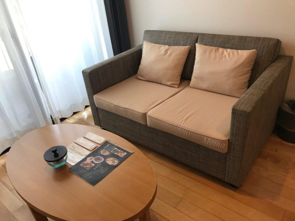 瀬長島ホテル ソファー ブログ
