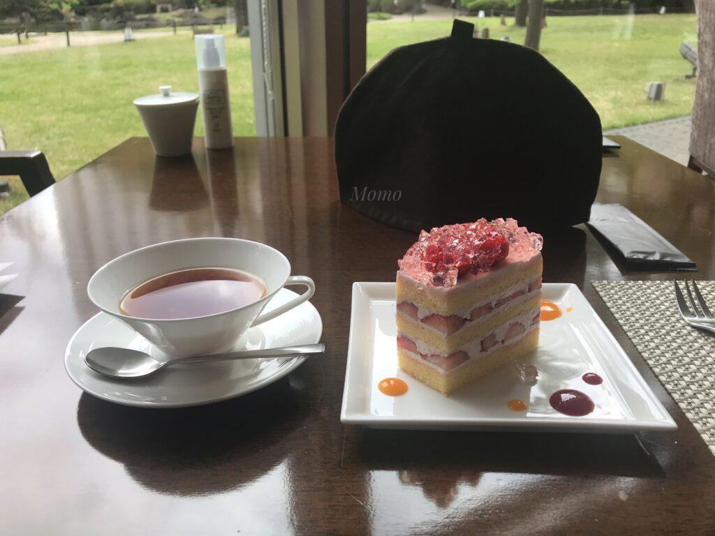 グランドプリンス高輪 コーヒー ケーキ