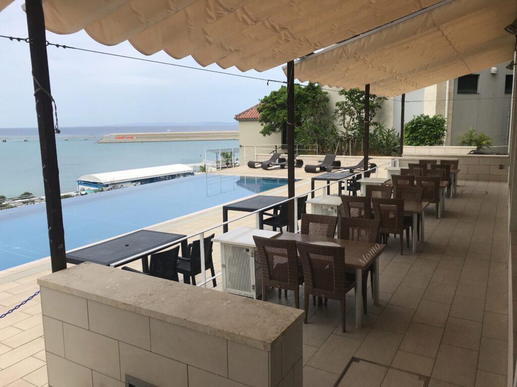 瀬長島ホテル プール朝食 ブログ