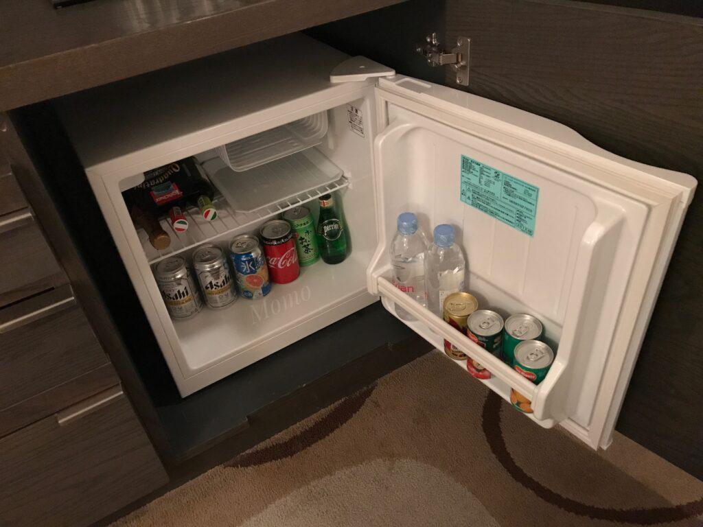 グランドプリンス新高輪 冷蔵庫 ミニバー