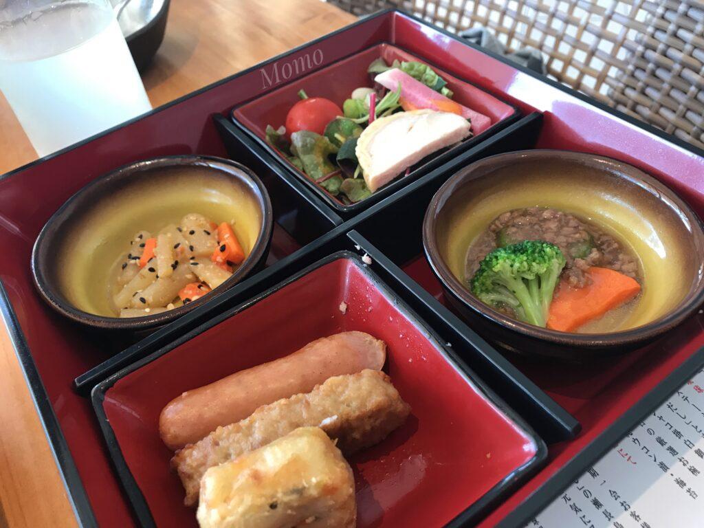 瀬長島ホテル レストラン メニュー ブログ