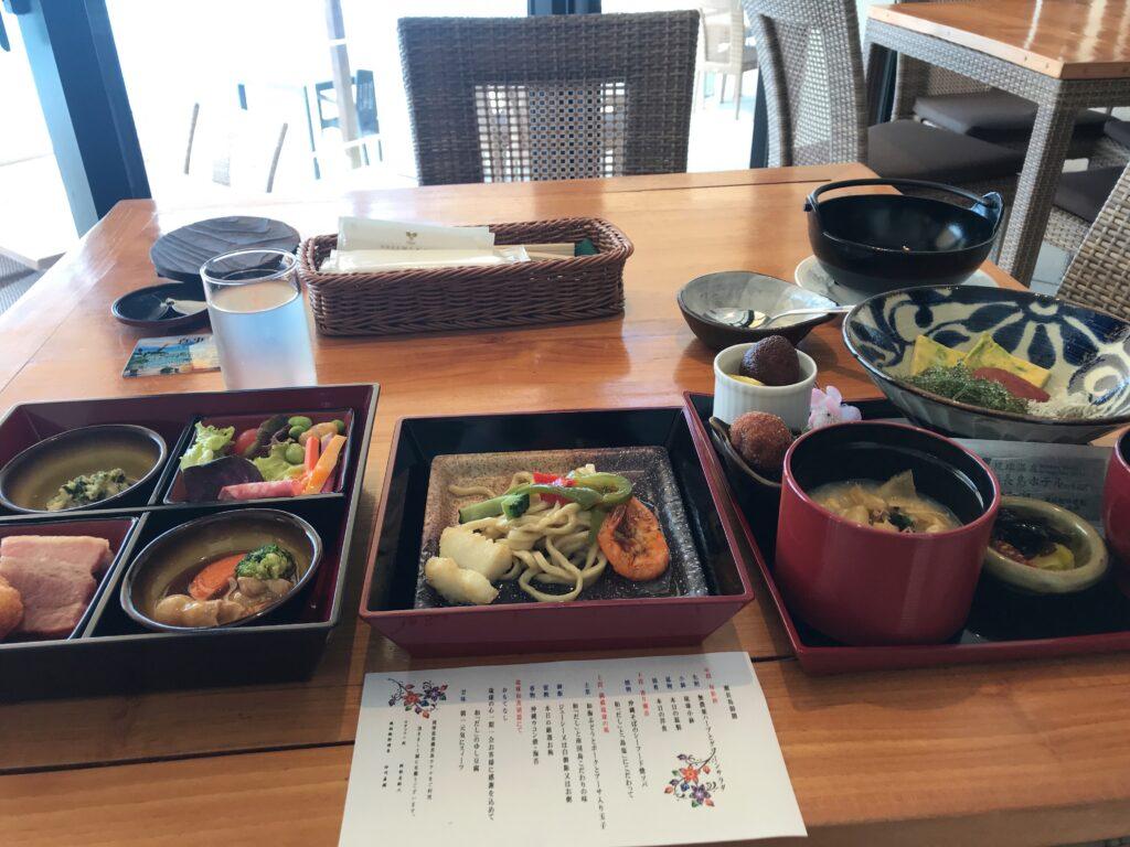 瀬長島ホテル コロナ対策 朝食